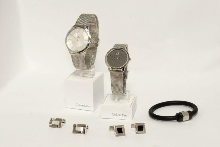 Gemelos, pulsera y relojes para caballero